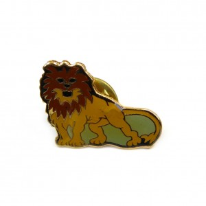 Pins badge zodiaque lion 1.8cmx2.5cm