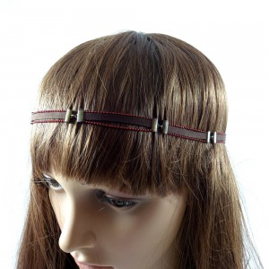 Headband cheveux - marron