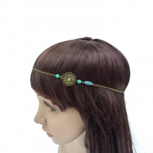 Headband bijou motif fantaisie - antique gold