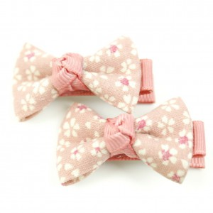 pince cheveux enfant 2pcs motif carreau -